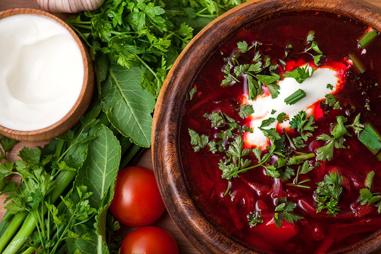 Вегетарианские рецепты — Борщ вегетарианский
